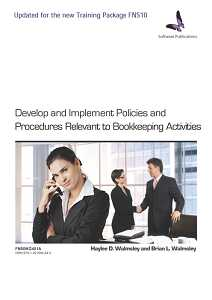 DEVELOP & IMPLEMENT POLICIES & PROCEDURES RELEVANT TO BOOKKEEPING ACTIVITIES - 2ND EDITION