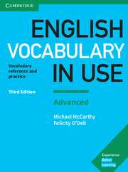 ENGLISH VOCAB IN USE ADVANCED W/ANS+CD